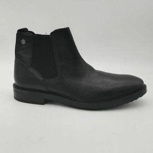 Base London Mens Kingsley Chelsea Boots Black 12